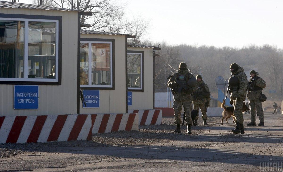 КПВВ Счастье и Золотое - Украине не удалось договориться о разблокировании пунктов пропуска / фото УНИАН