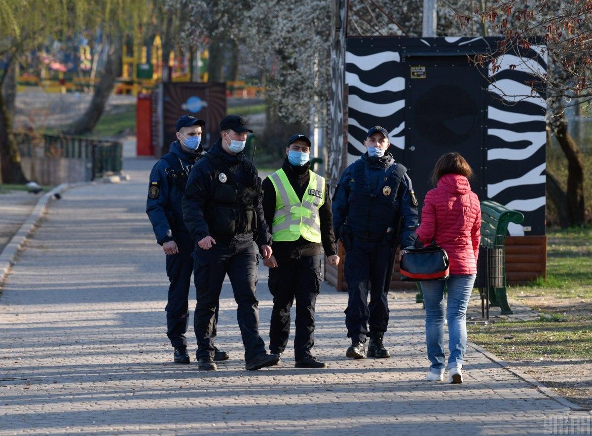 Полиция активнее будет проверять соблюдение карантина / фото УНИАН, Максим Полищук