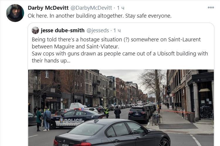 Наративний директор AC: Valhalla стверджує, що все сталося в сусідній будівлі / фото twitter.com/DarbyMcDevitt