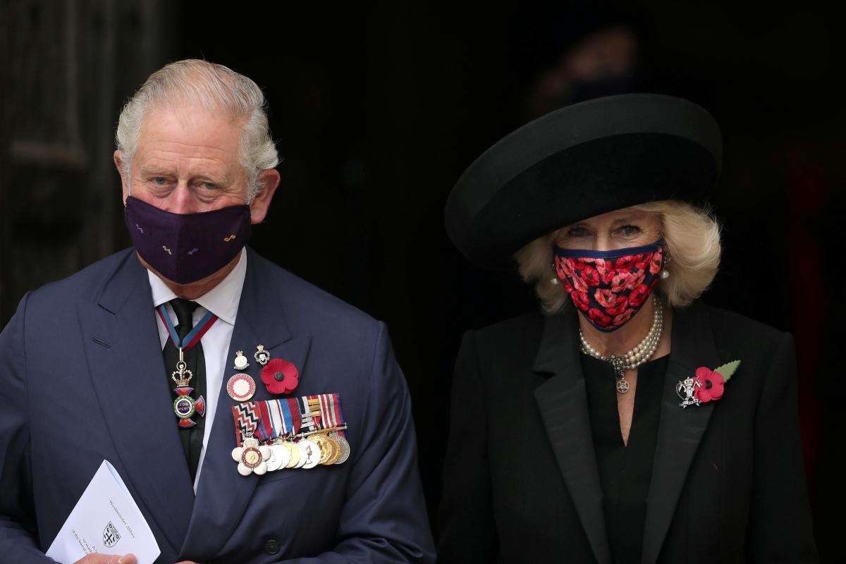 Герцогиня Корнуолльская Камилла Паркер Боулз ипринц Чарльз Уэльский / фото REUTERS