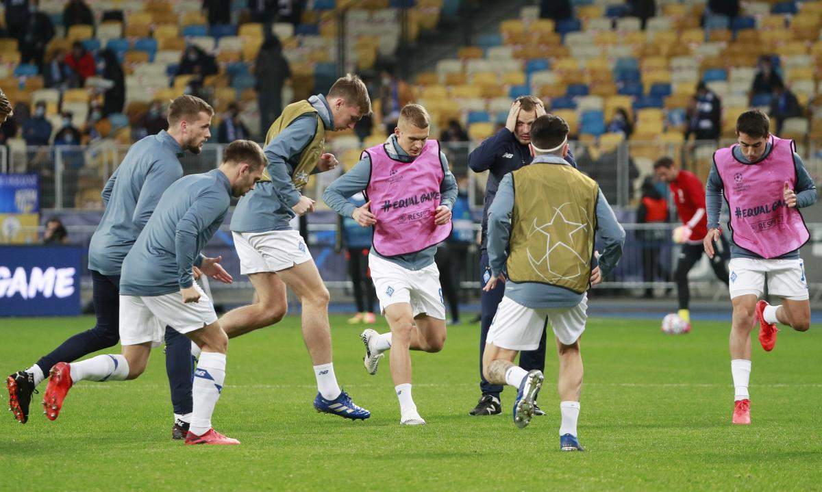 Динамо провело на Олимпийском матч первого тура ЛЧ / фото REUTERS