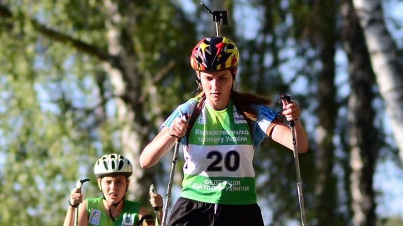 Алина Мирошниченко - призер чемпионатов Украины / фото facebook.com/val.cerbe
