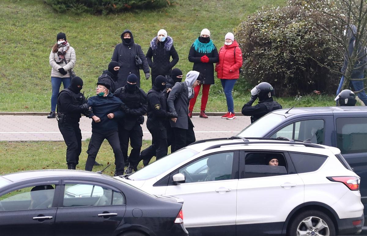 В стране ужесточили ответственность заучастие внесанкционированных акциях / фото REUTERS