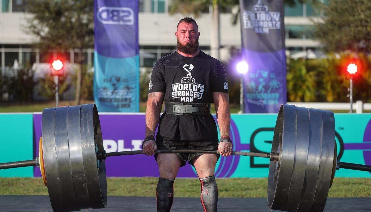 Ukrainian Novikov wins 2020 World's Strongest Man title / Photo from facebook.com/theworldsstrongestman