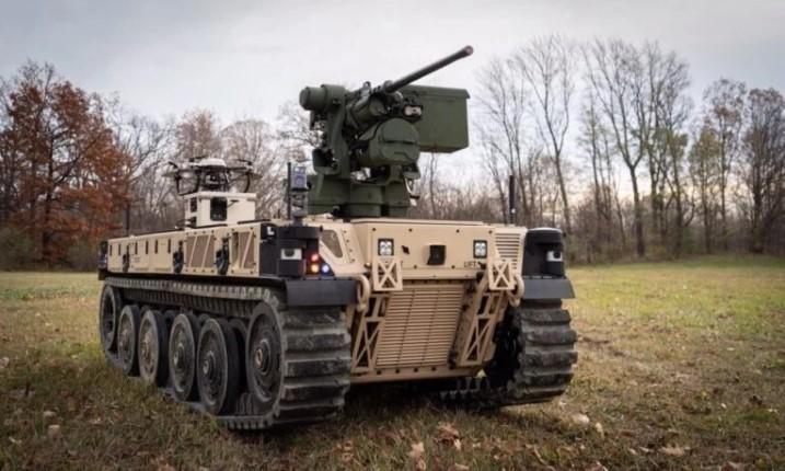 Бойова роботизована машина Qinetiq-легка (RCV-L) / фото Breaking Defense