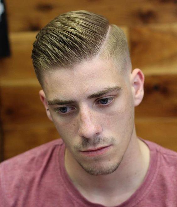 Мужская стрижка под Фрица / фото pinterest.com