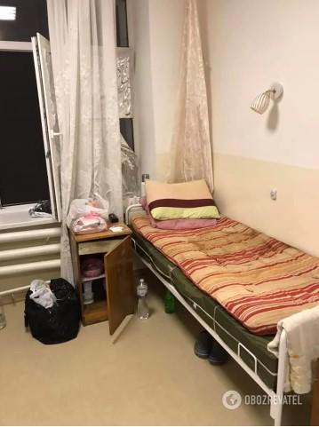 Хворі, які лікуються від ковіду, лежать в холодних палатах / Obozrevatel