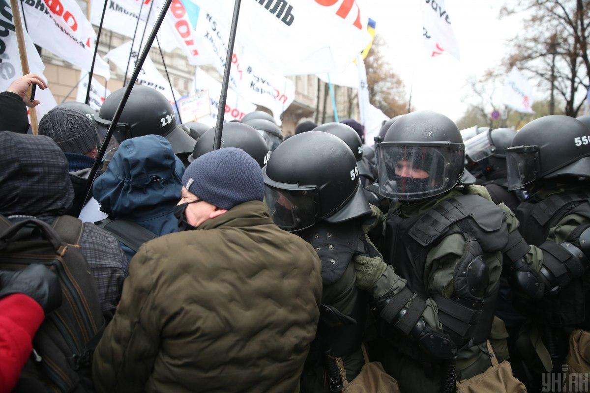 Протесты ФОП - Арахамия удивил заявлением относительно предпринимателей / УНИАН