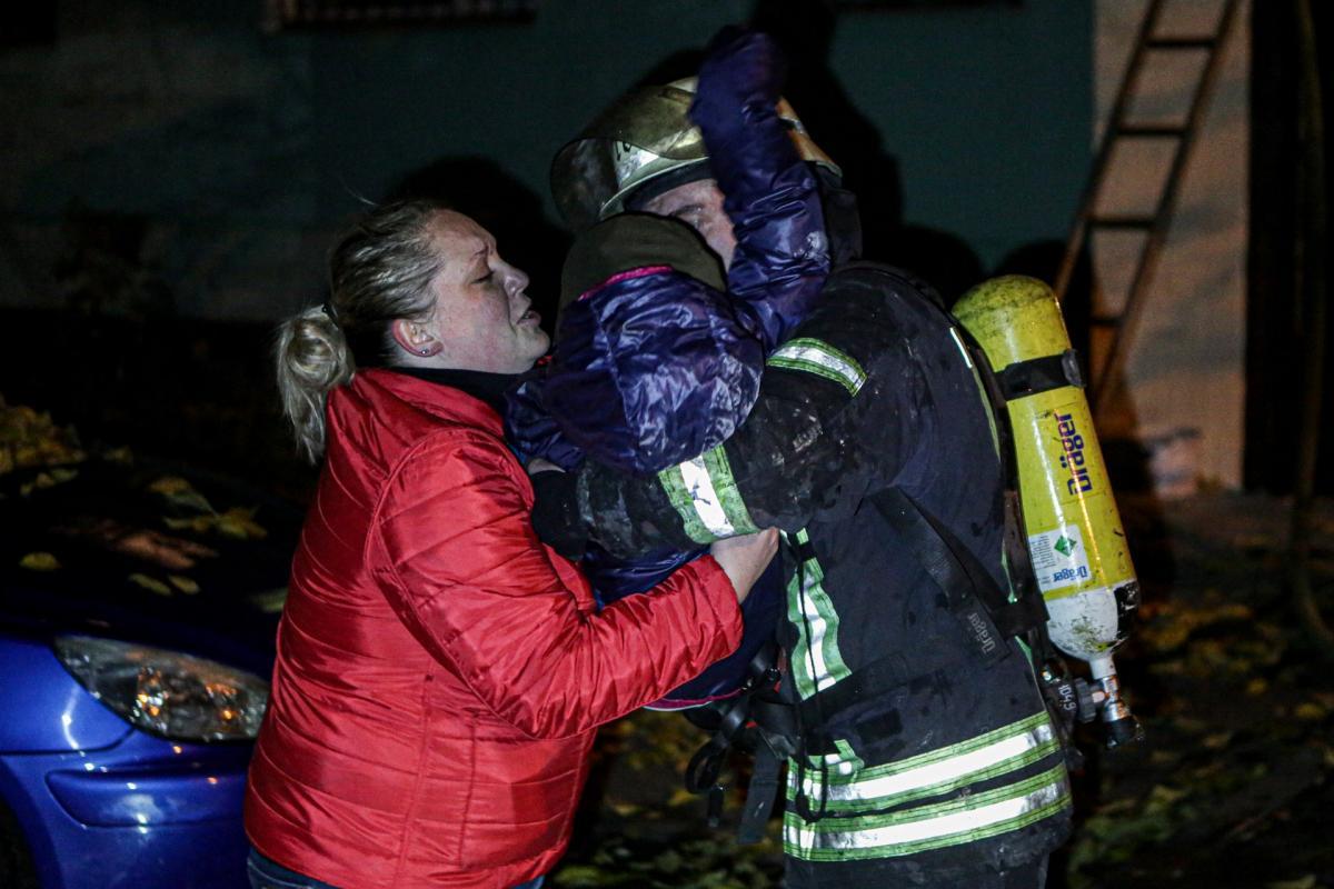 В Киеве произошел масштабный пожар / ГСЧС