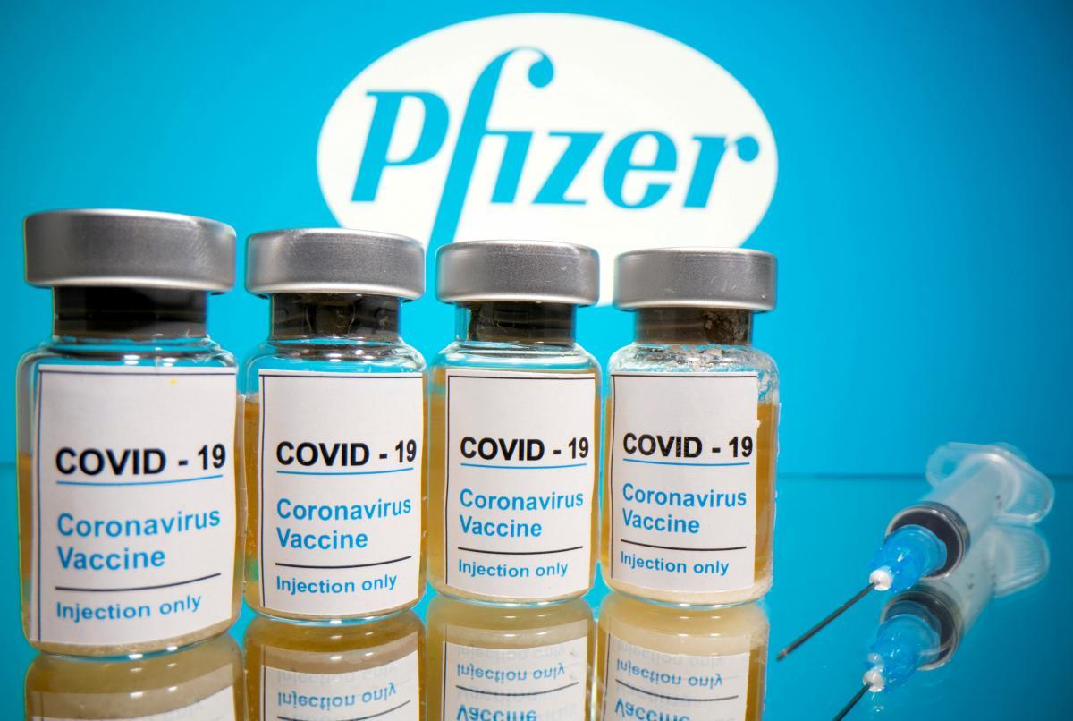 BioNTech и Pfizerсообщили, что эффективность их вакцины оценивается в 95% \ фото REUTERS