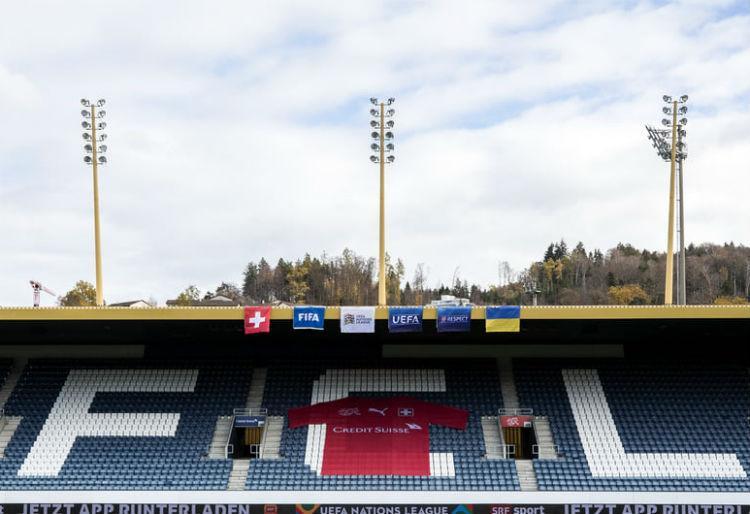 Матч в Люцерне не состоится по инициативе швейцарской стороны / фото УАФ