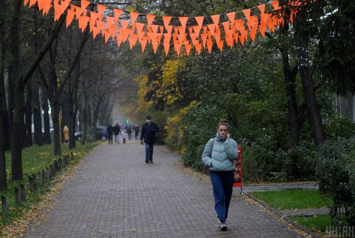 У Києві сьогодні - хмарно / фото УНІАН