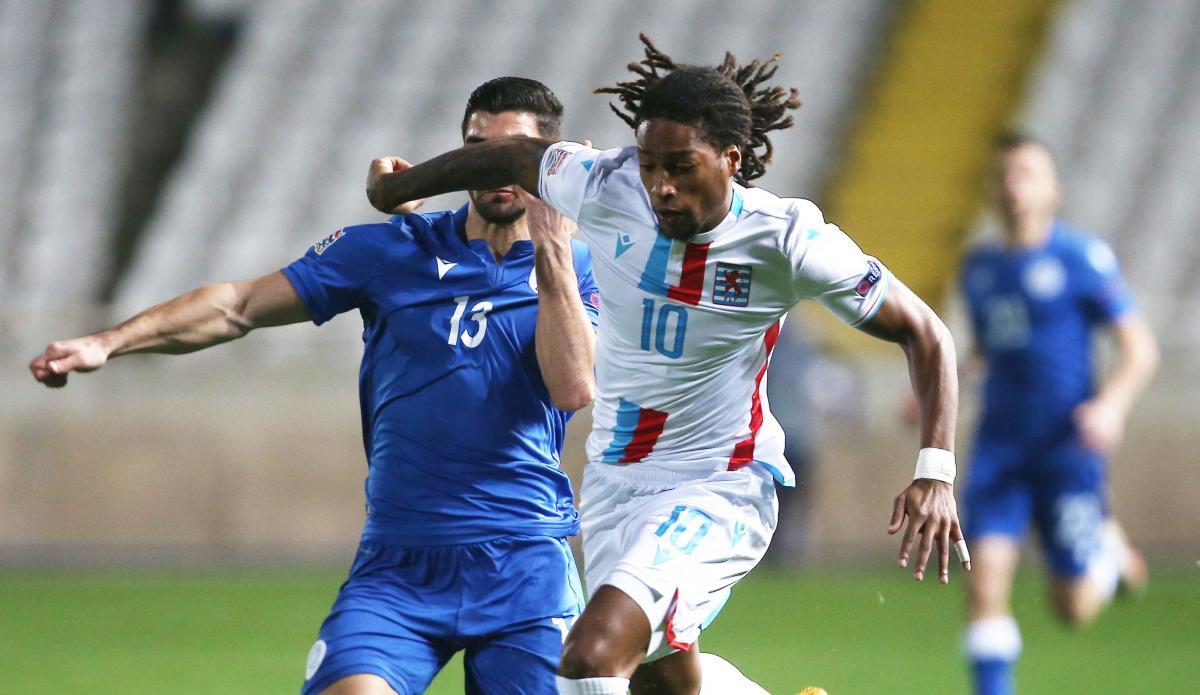 Жерсон Родригес в матче против Кипра / фото REUTERS