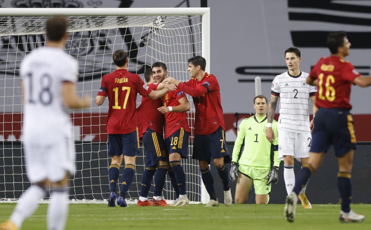 Іспанія - Німеччина / фото REUTERS