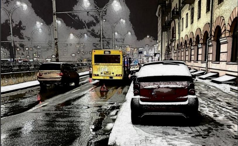 У Києві побільшало ДТП / фото Патрульна поліція Києва