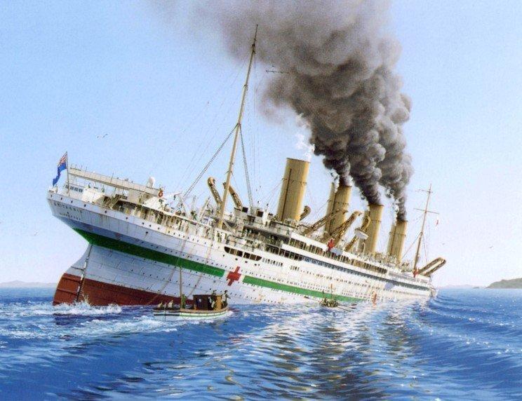 В этот день в Эгейском море затонул «Британик» - корабль-близнец легендарного «Титаника» / фото 7info.ru