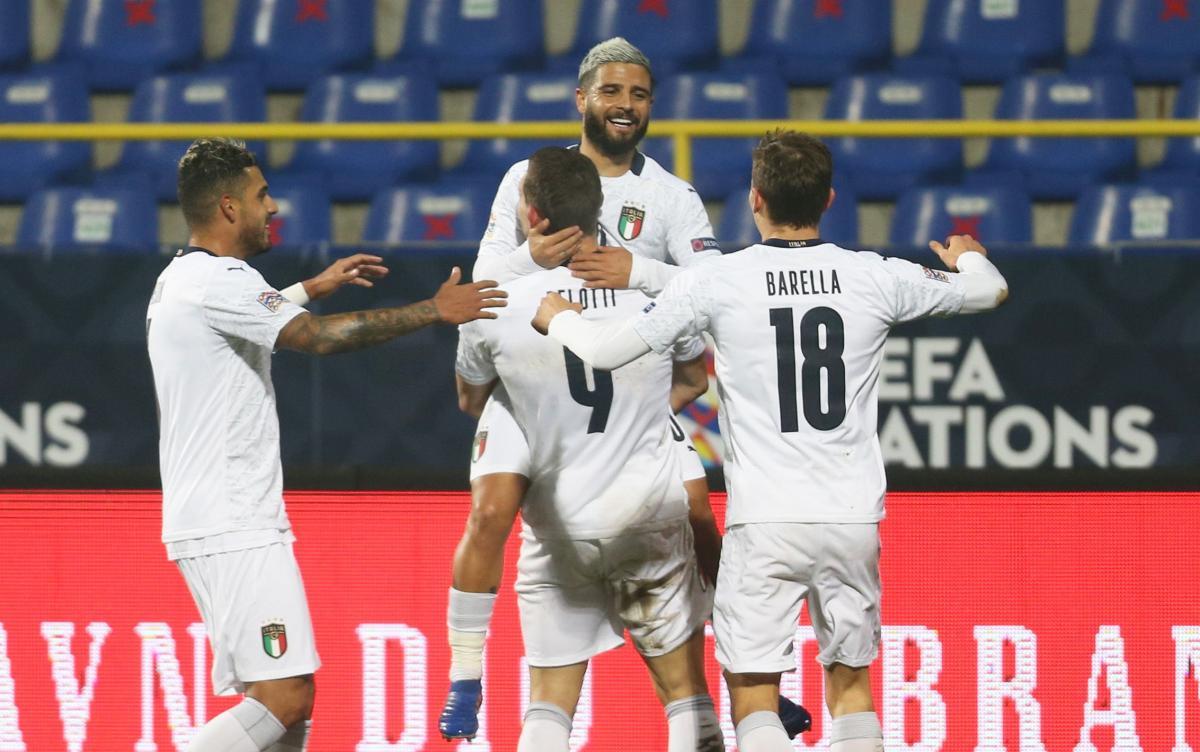 Збірна Італії - у півфіналі Ліги Націй / фото REUTERS