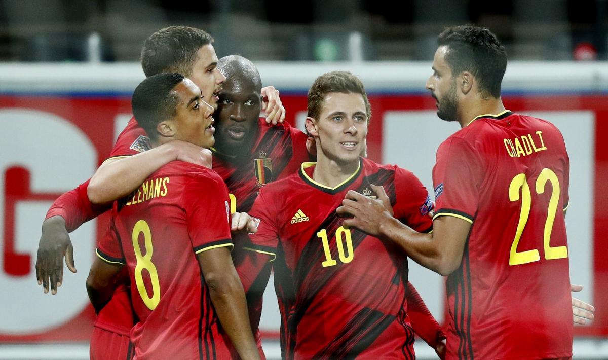 Игроки сборной Бельгии / фото REUTERS