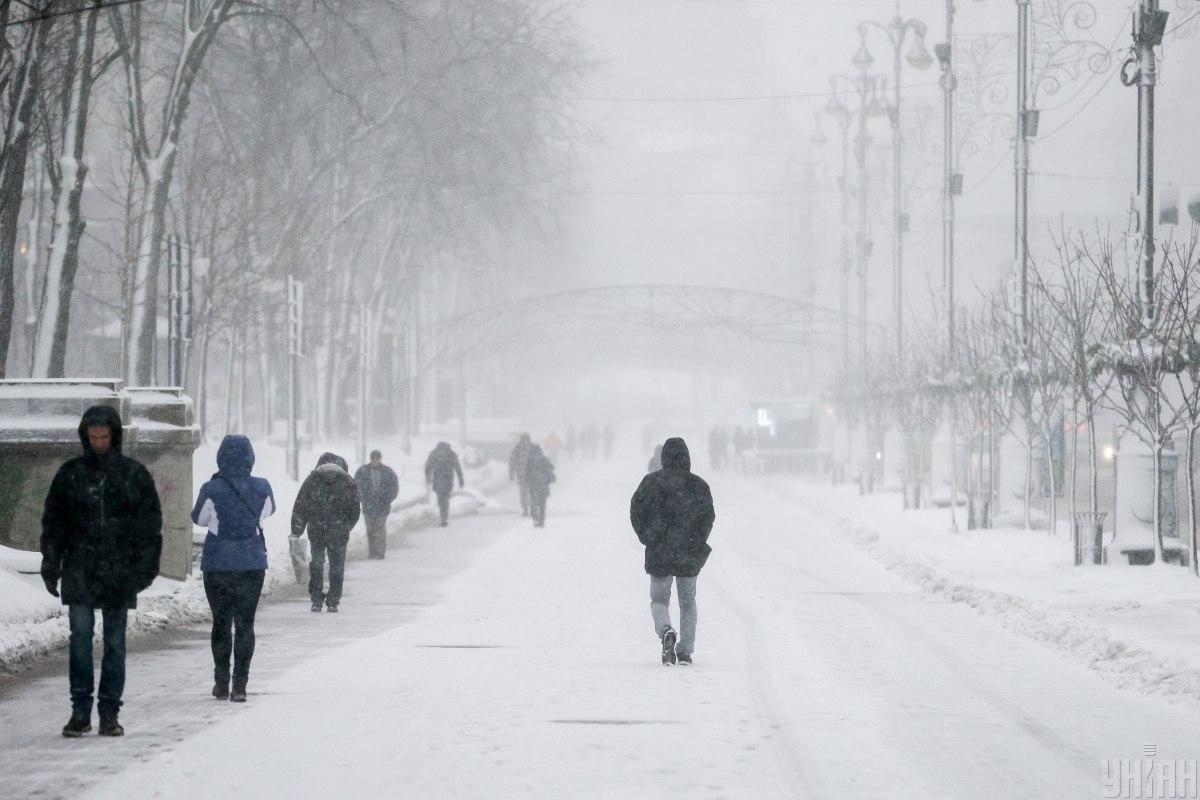 На українців чекає зима з нестійким сніговим покривом / фото УНІАН