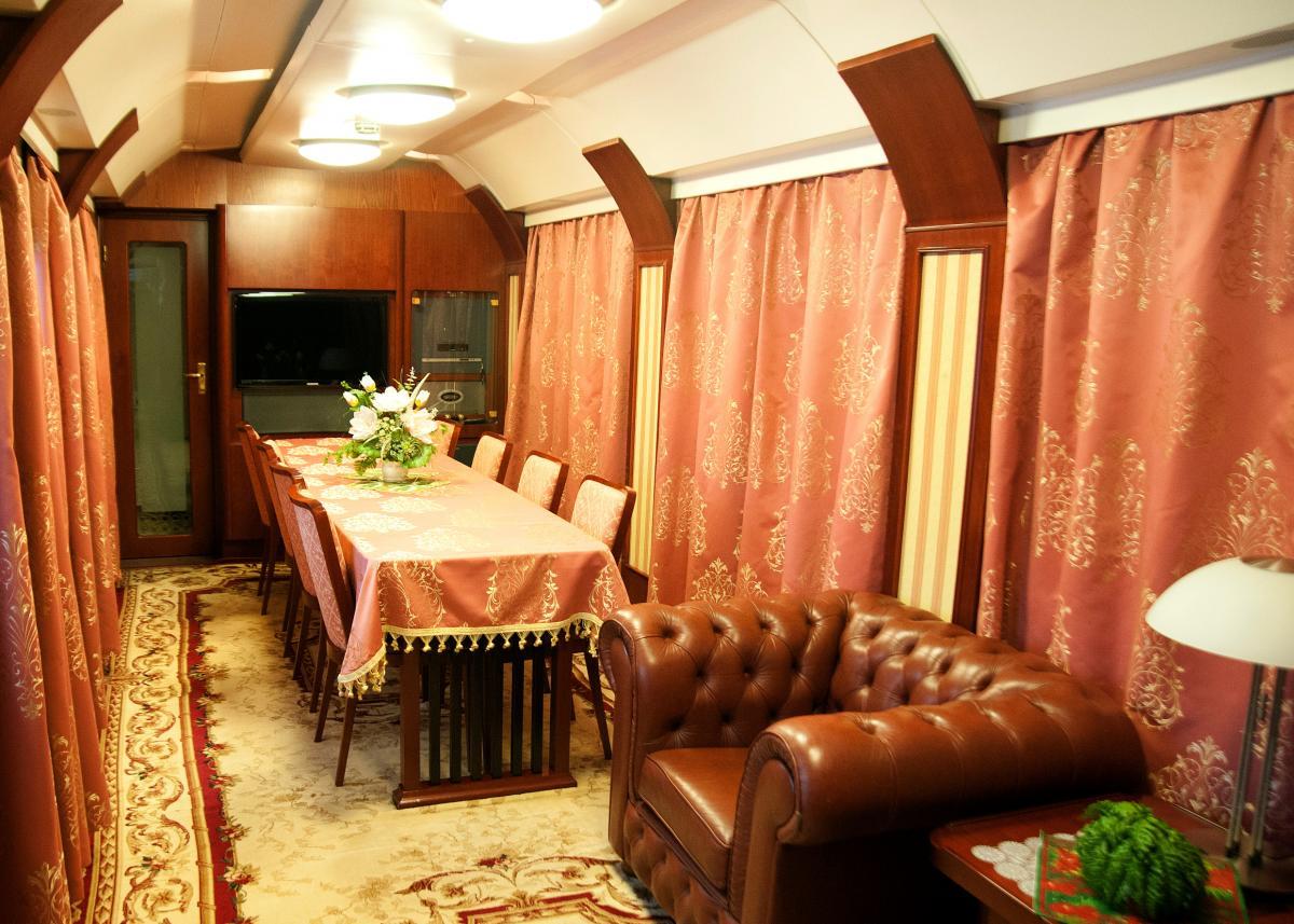 Ціна проїзду у VIP-вагоні може становити близько 14 тисяч гривень / фото uz.gov.ua