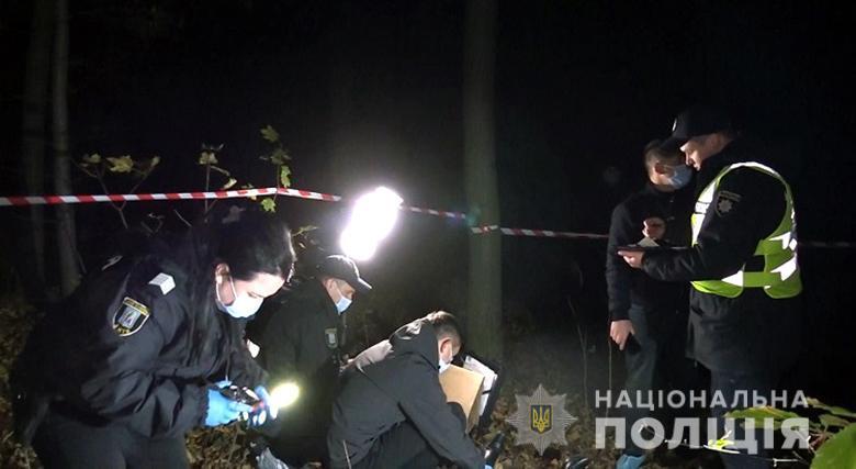 Подозреваемого задержали / фото полиция Киева