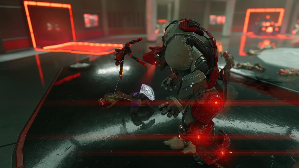 Вторая битва с Носорогом / скриншот