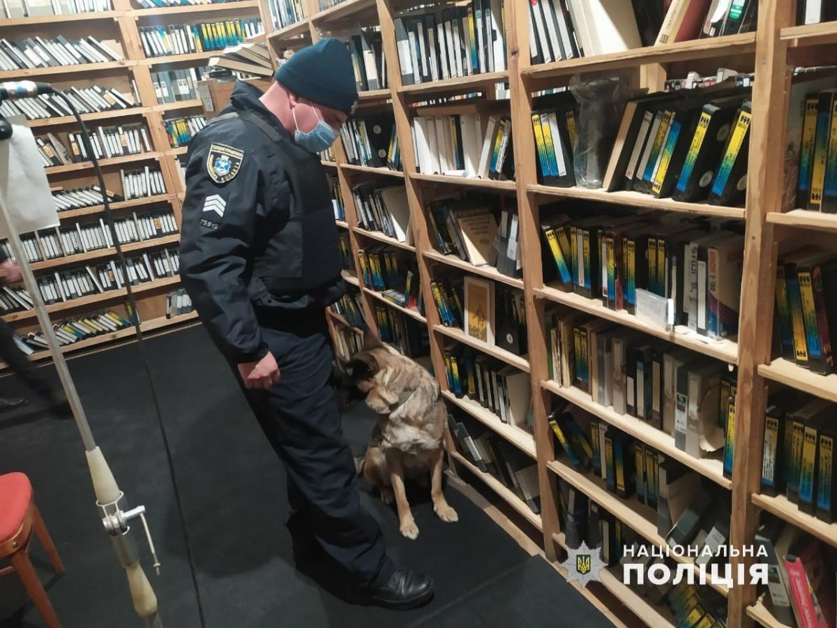 Взрывчатку в помещении не нашли / фото Нацполиция
