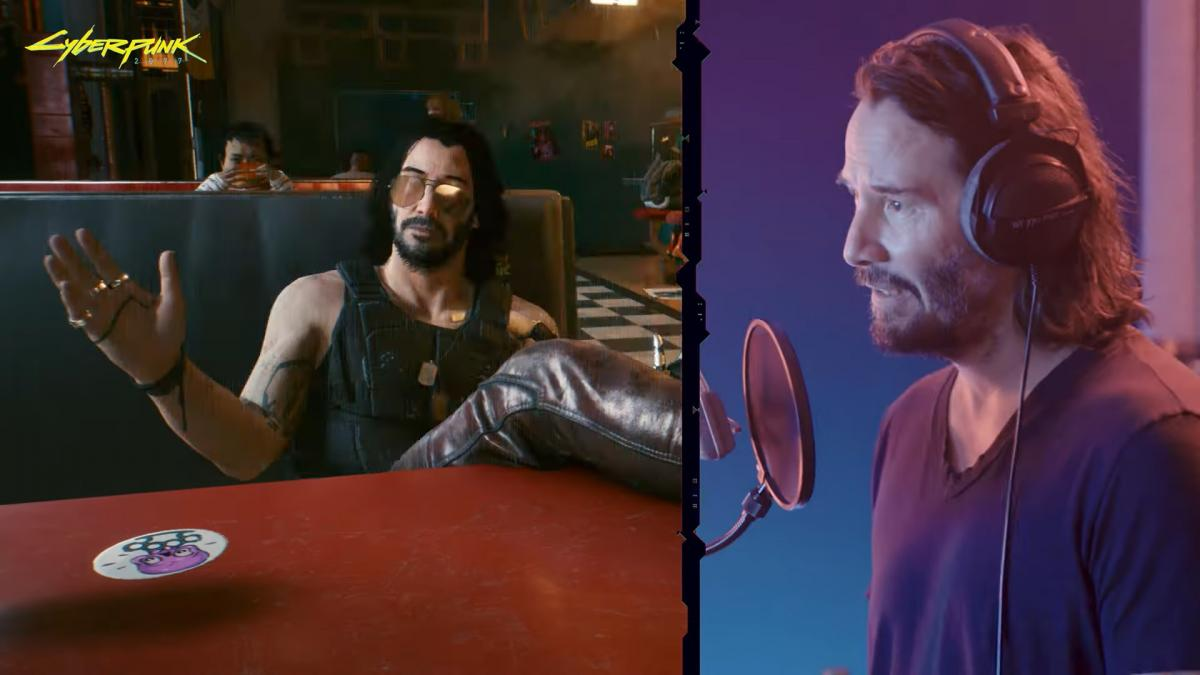 Киану Ривз озвучил одного из ключевых персонажей Cyberpunk 2077 /скриншот из трейлера