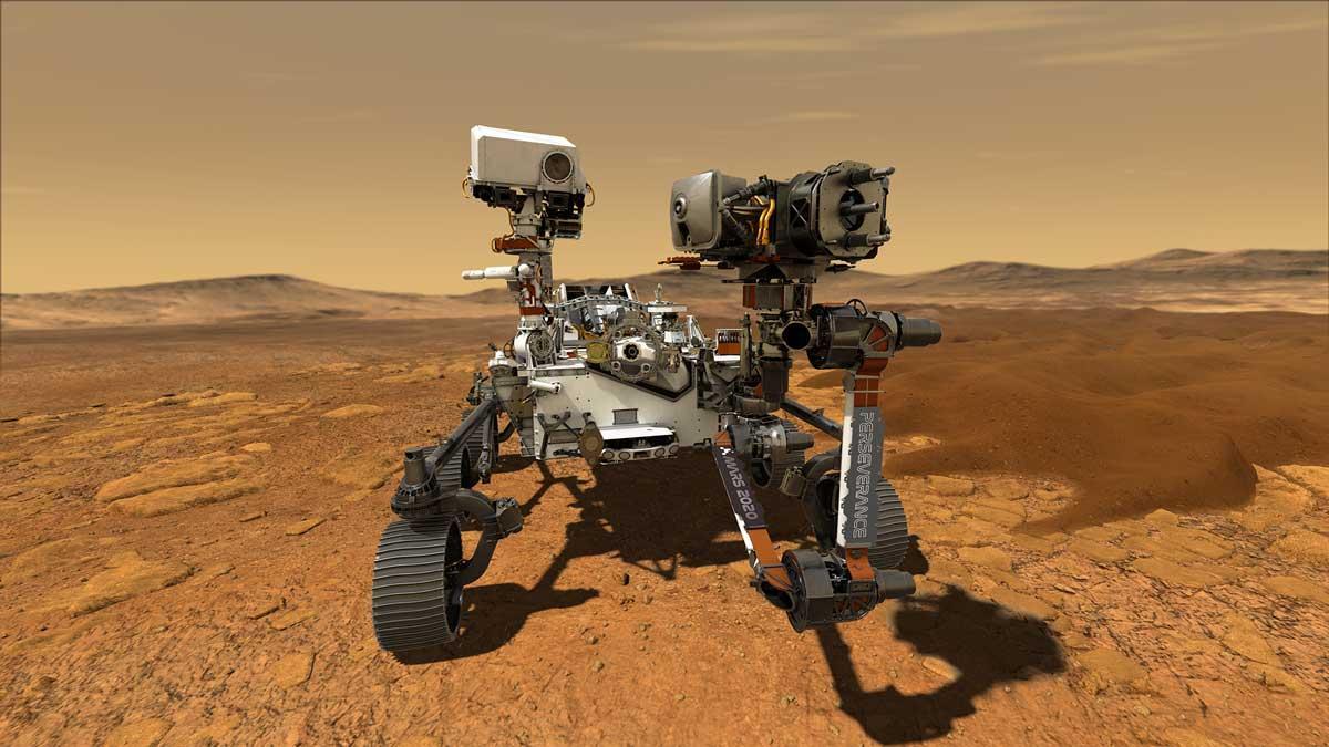 Марсоход Perseverance впервые оснащён микрофонами / фото NASA