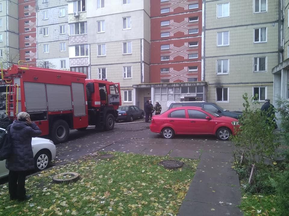 Пожежа на Ревуцького / Игорь Гапон/Facebook