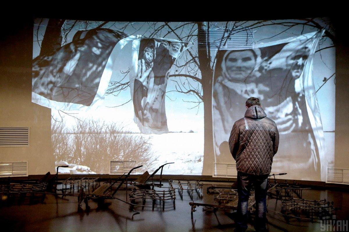 Проект посвящен памяти жертв Голодомора 1932-33 годов / Фото УНИАН, Вячеслав Ратынский