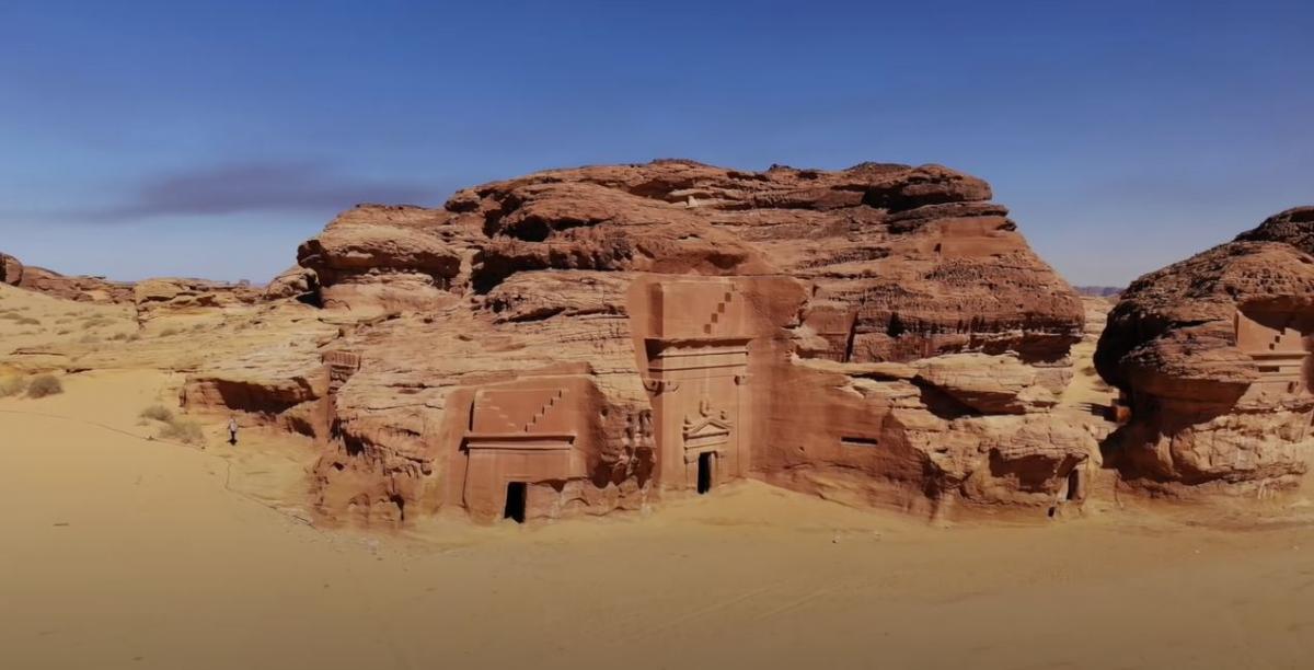 Саудовская Аравия имеет немало исторических памятников / фото пресс-службы «1+1»