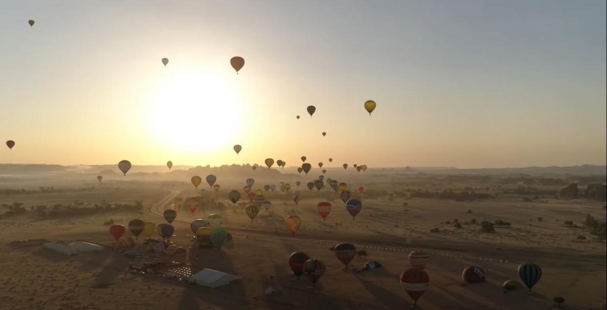 Саудовская Аравия предлагает туристам современные развлечения / фото пресс-службы «1+1»