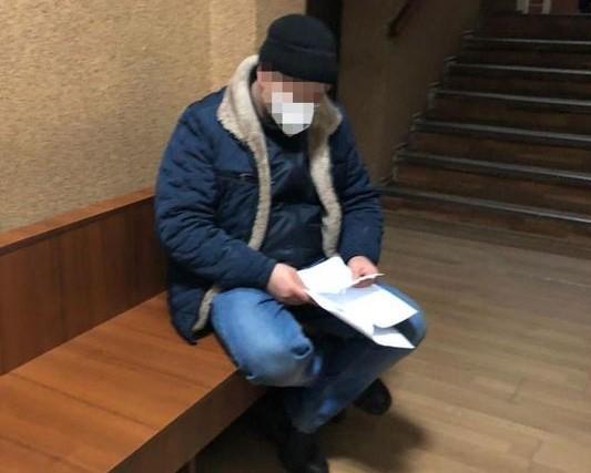 Мужчину пытался пересечь границу с Россией / фото ОГП