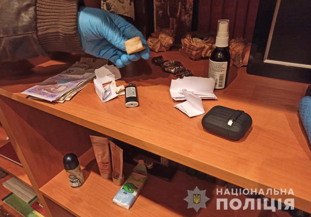 Правоохранители задержали подозреваемого / фото ГУ НП в Житомирской области