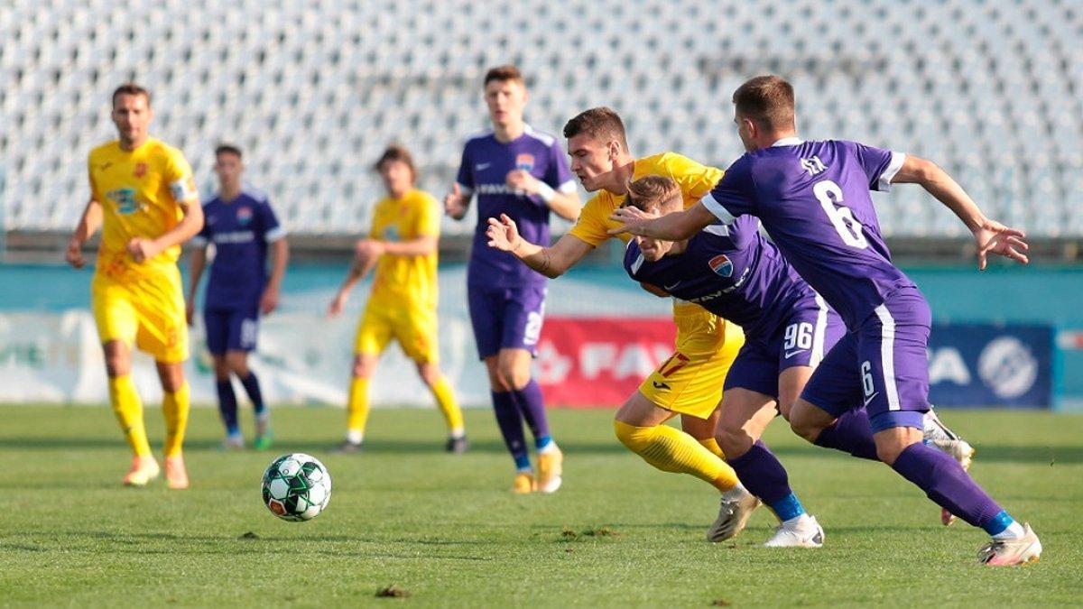 Мариуполь играл без семи футболистов из-за COVID-19 / фото ФК Мариуполь