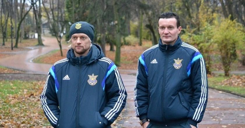 Тимощук и Федецкий вместе играли за сборную Украины / фото football.ua
