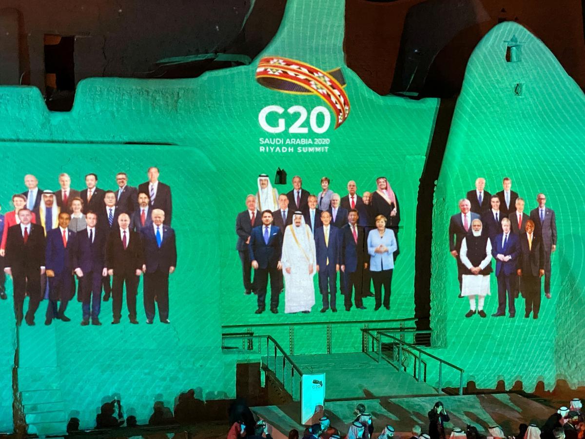 Саммит G20 / фото REUTERS