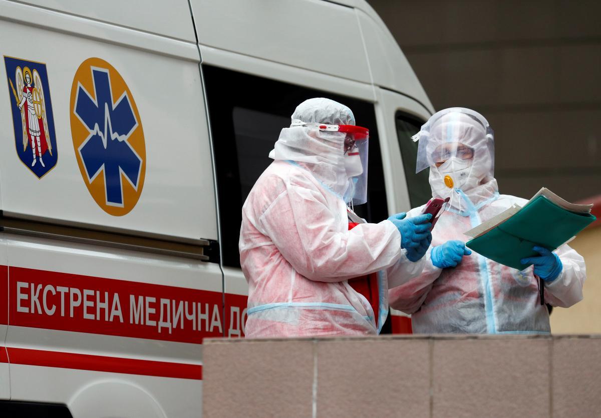 Коронавирус новости - стало известно, когда ждать пик COVID-19 в Украине / REUTERS