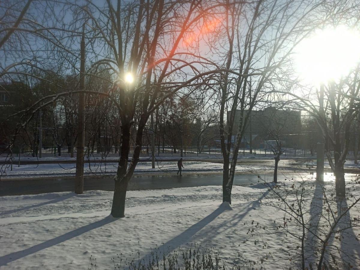 В Харькове выпал снег / Telegram, ТРУХА Харьков