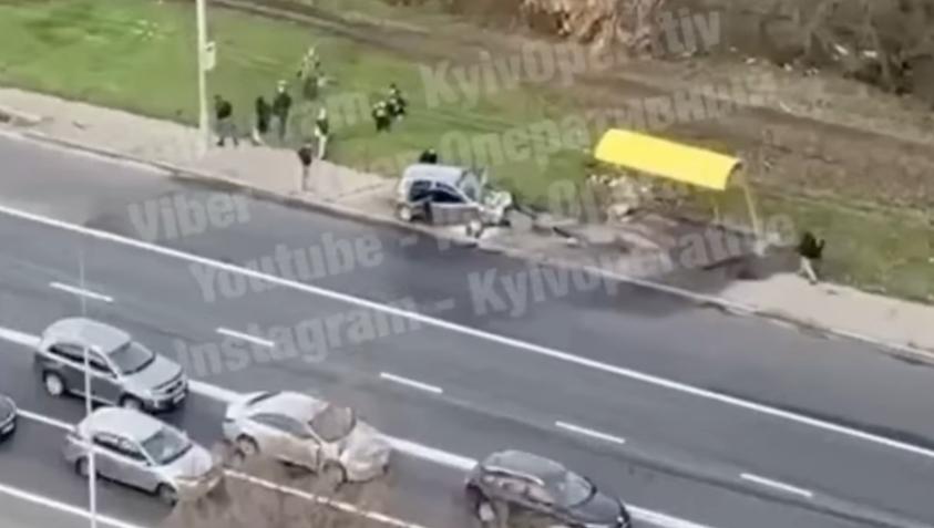 Пострадал водитель легковушки / скриншот