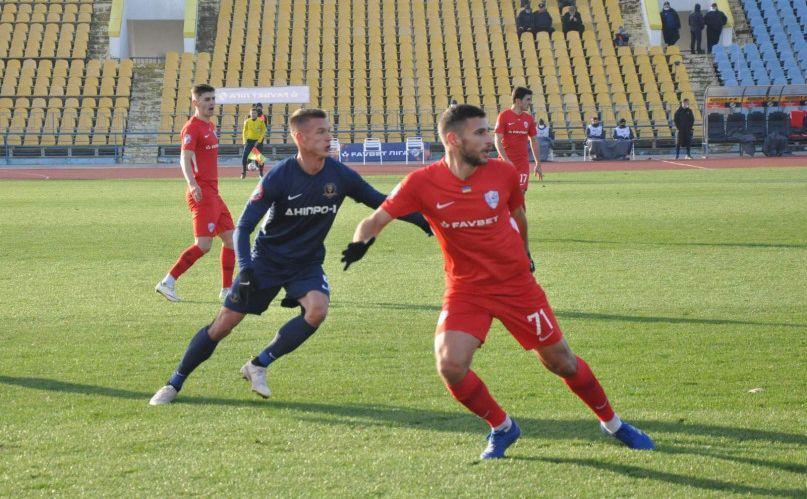 Минай обіграв Дніпро-1 / фото ФК Минай