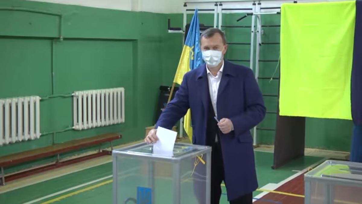 Таковы результаты второго тура голосования за мэра 22 ноября/ скриншот из видео