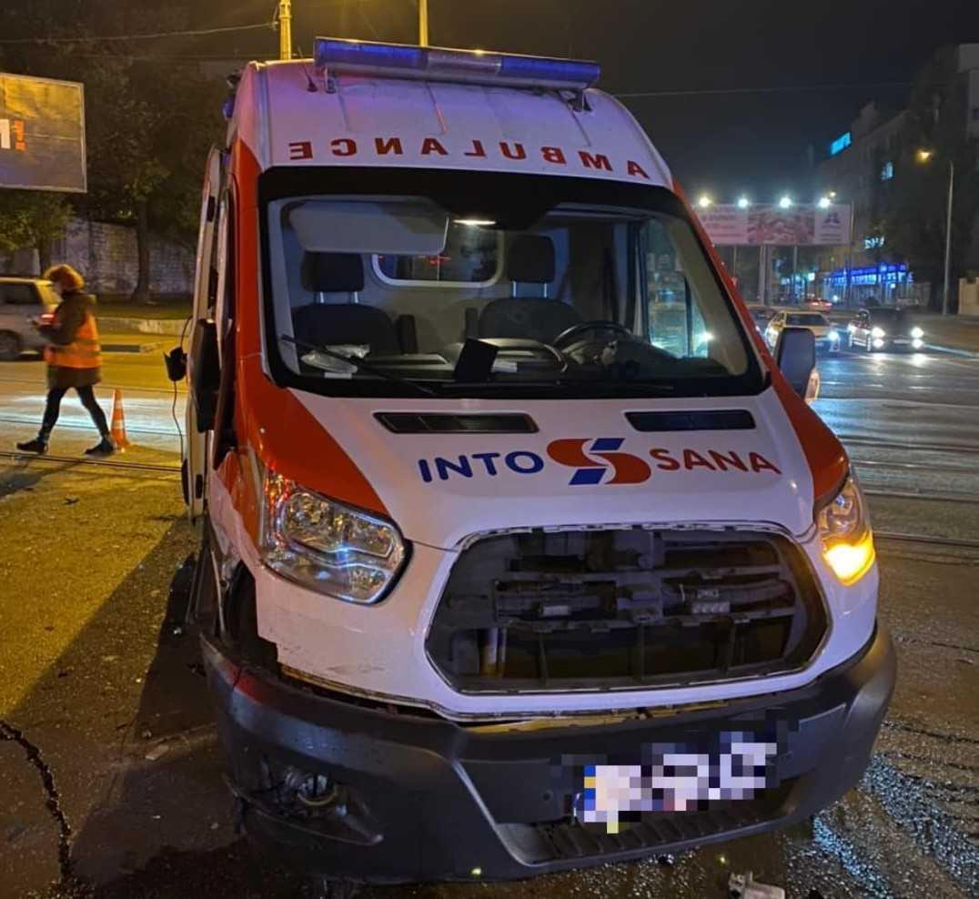 Причины происшествия устанавливаются/ фото управление патрульной полиции в Одесской области