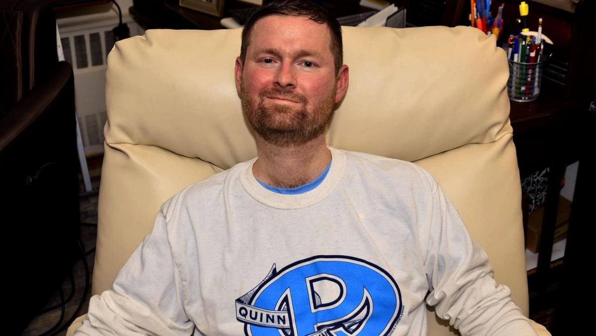 Патрик Квинн создалгруппу для сбора средств на борьбу с БАС / фото als.org