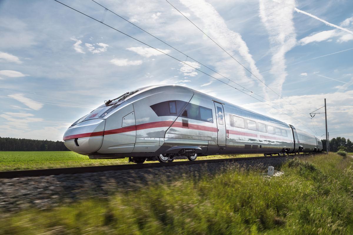 В Германии Siemens и Deutsche Bahn работают над созданием водородных поездов / фото siemens.com