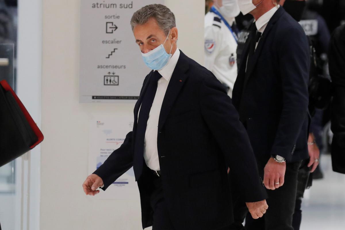 Судебный процесс над Саркози продлится до 10 декабря \ фото REUTERS