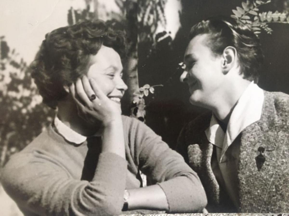 Жанна Тугай і Роман Віктюк разом розпочинали творчий шлях / фото з особистого архіву Жанни Тугай