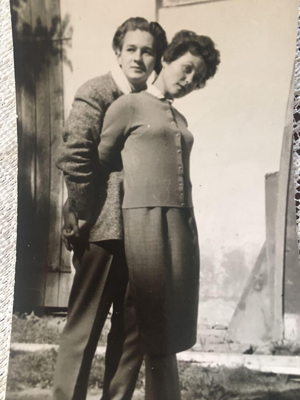 Це фото знайомі акторів вважали «непристойним» / фото з особистого архіву Жанни Тугай