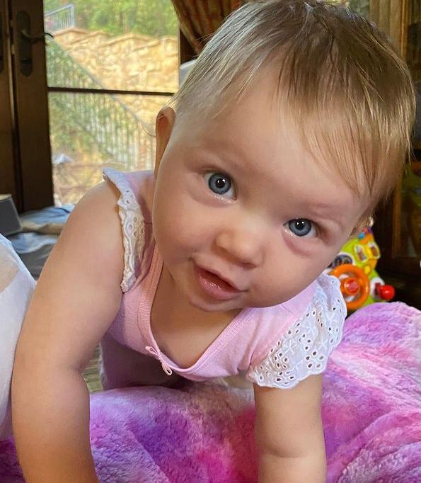 Самая младшая дочь актрисы похожа на свою звездную маму \ instagram.com/millajovovich